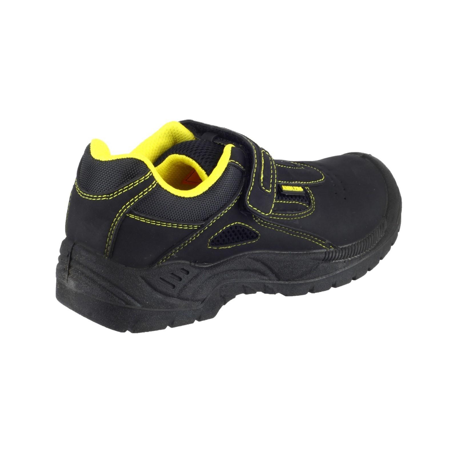 Amblers-Safety-Fs77-Donna-Scarpe-Traspiranti-Chiusura-A-Strappo-Sicurezza-Lavoro