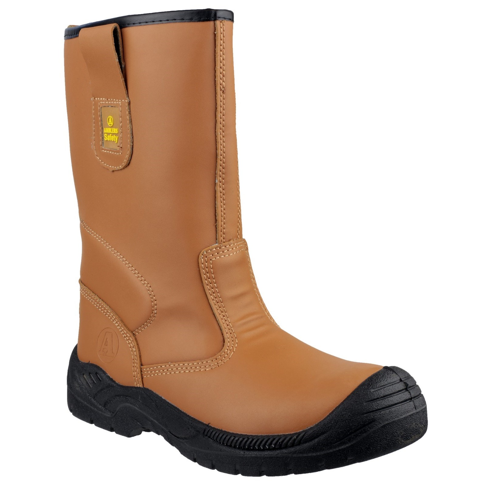Amblers Safety Mens FS142 Water Resistant Pull On Safety Rigger Boot