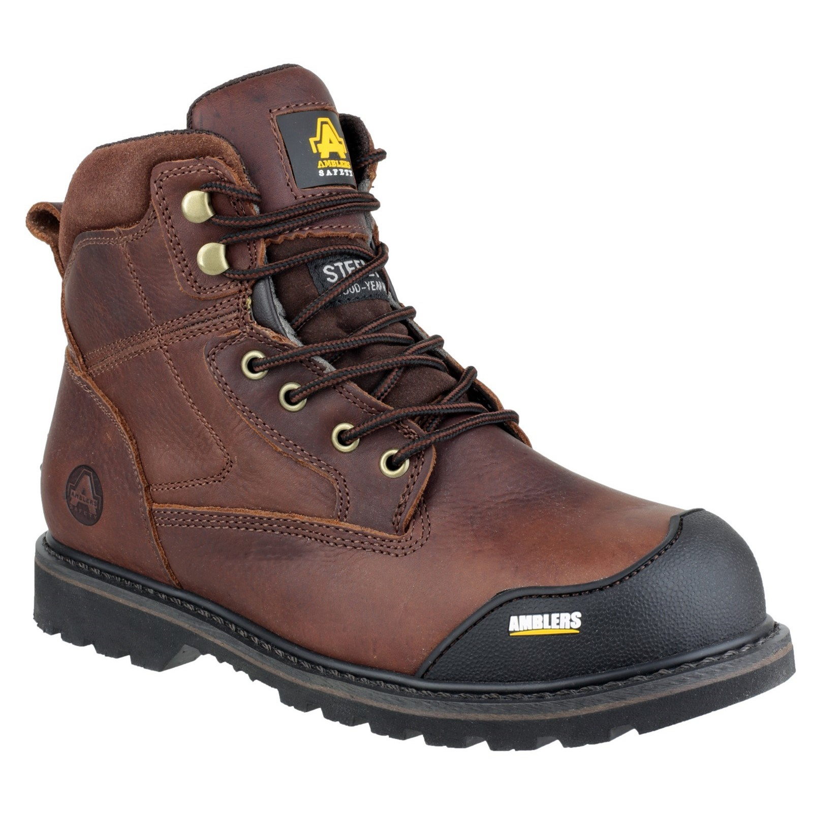 Amblers Safety Unisex FS167 Goodyear Welted Lace up Safety Boot