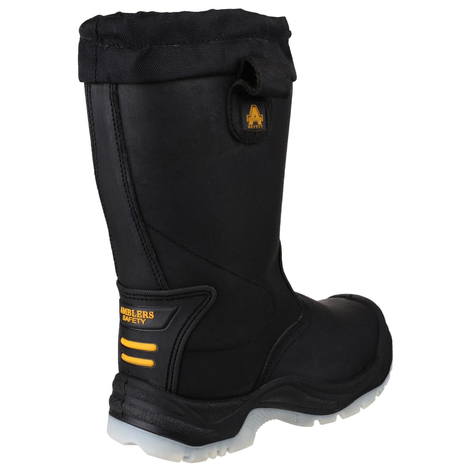 73b801a990c Details about Amblers Safety Mens FS209 Water Resistant Pull On Safety  Rigger Boot