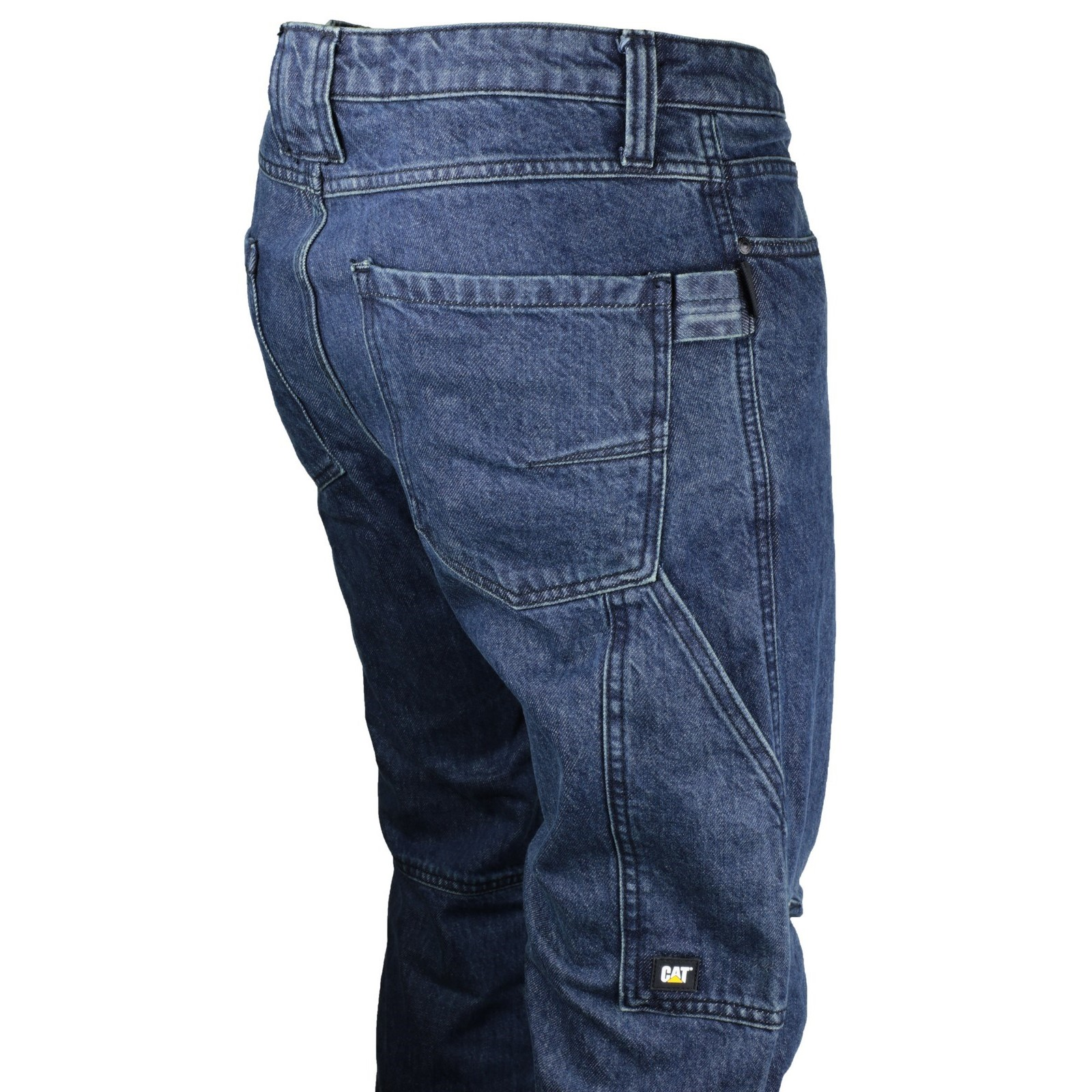 caterpillar herren jeans jeanshose arbeitshose taschen denim hose arbeitsjeans ebay. Black Bedroom Furniture Sets. Home Design Ideas
