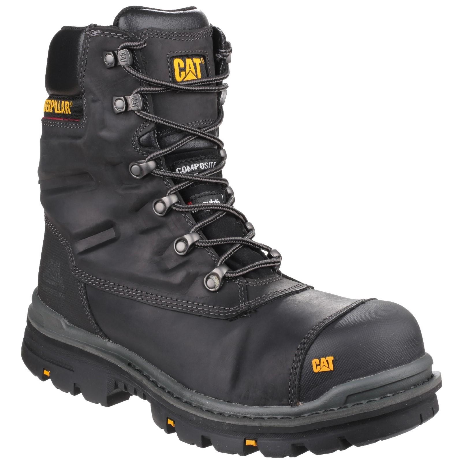Caterpillar Mens Premier Waterproof Safety Boot