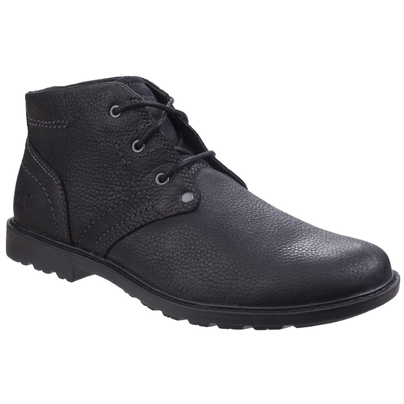 CAT Lifestyle Herren Carsen Mid Pebble Schnürsenkel Schuhe Stiefel