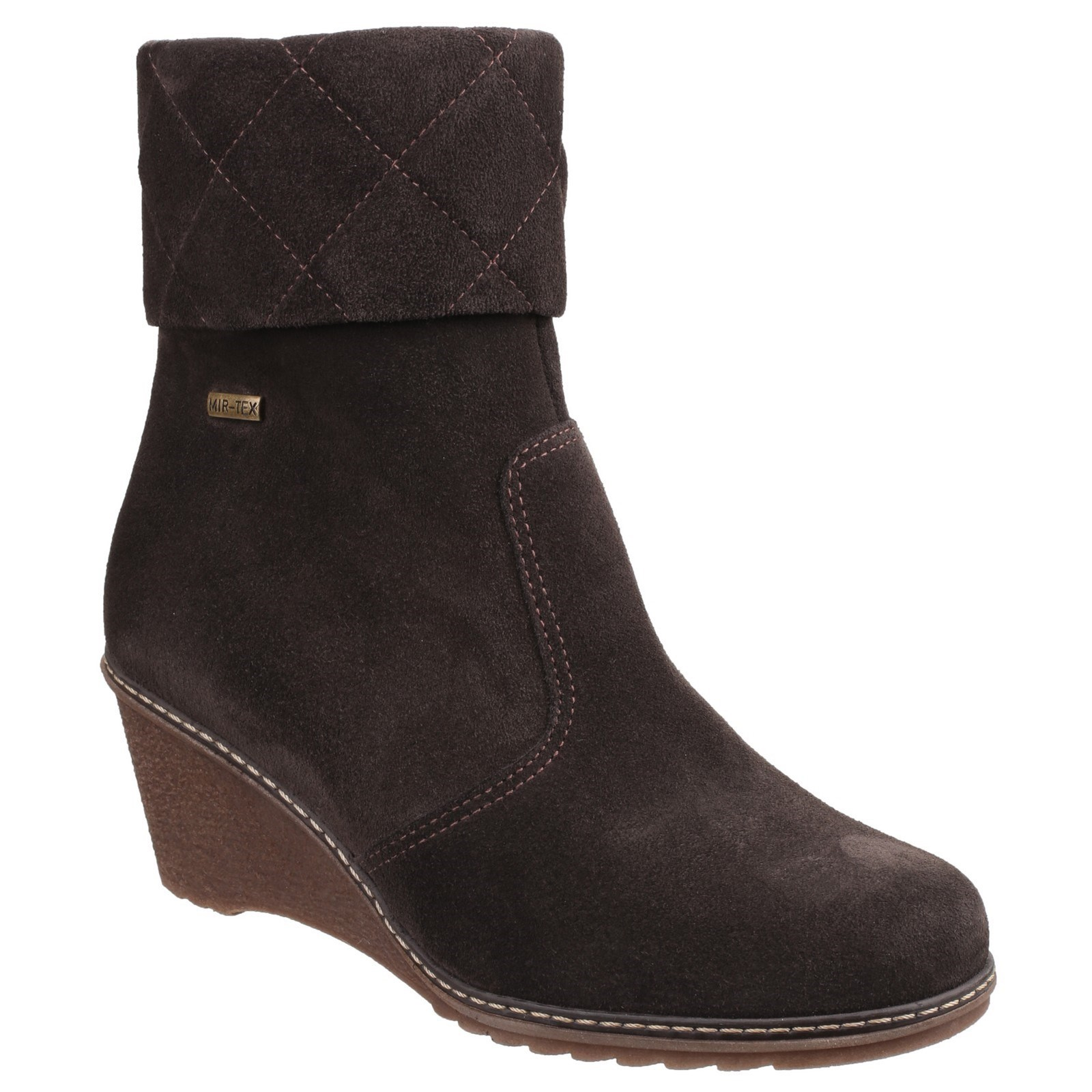 Cotswold-Mujer-Cornwell-Impermeable-Cremallera-Botines