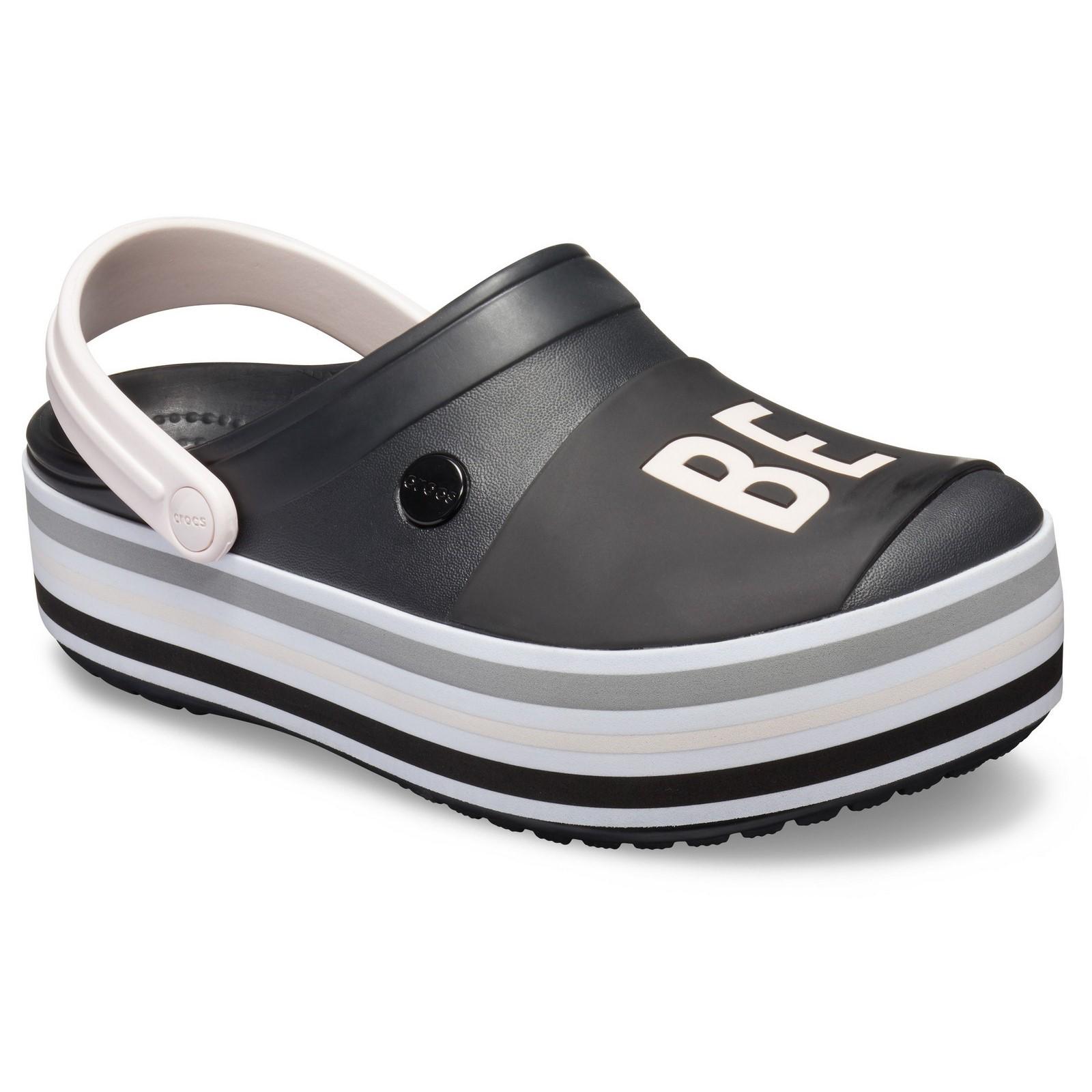 9c24032efbb Image is loading Crocs-Womens-Crocband-Platform-Clog-Slip-On