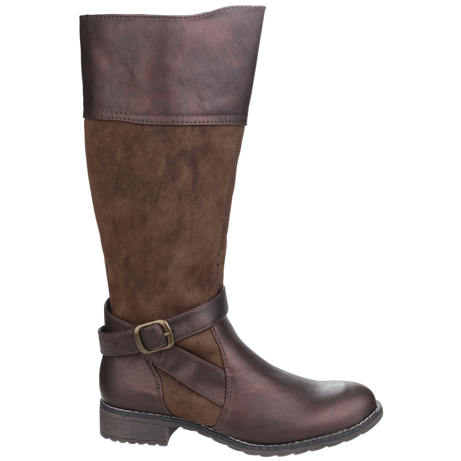 Eu Taglia Womens Uk 38 Up Marrone Garbo Boot Zip Divaz 5038600436177 5 aqnpzwY6p