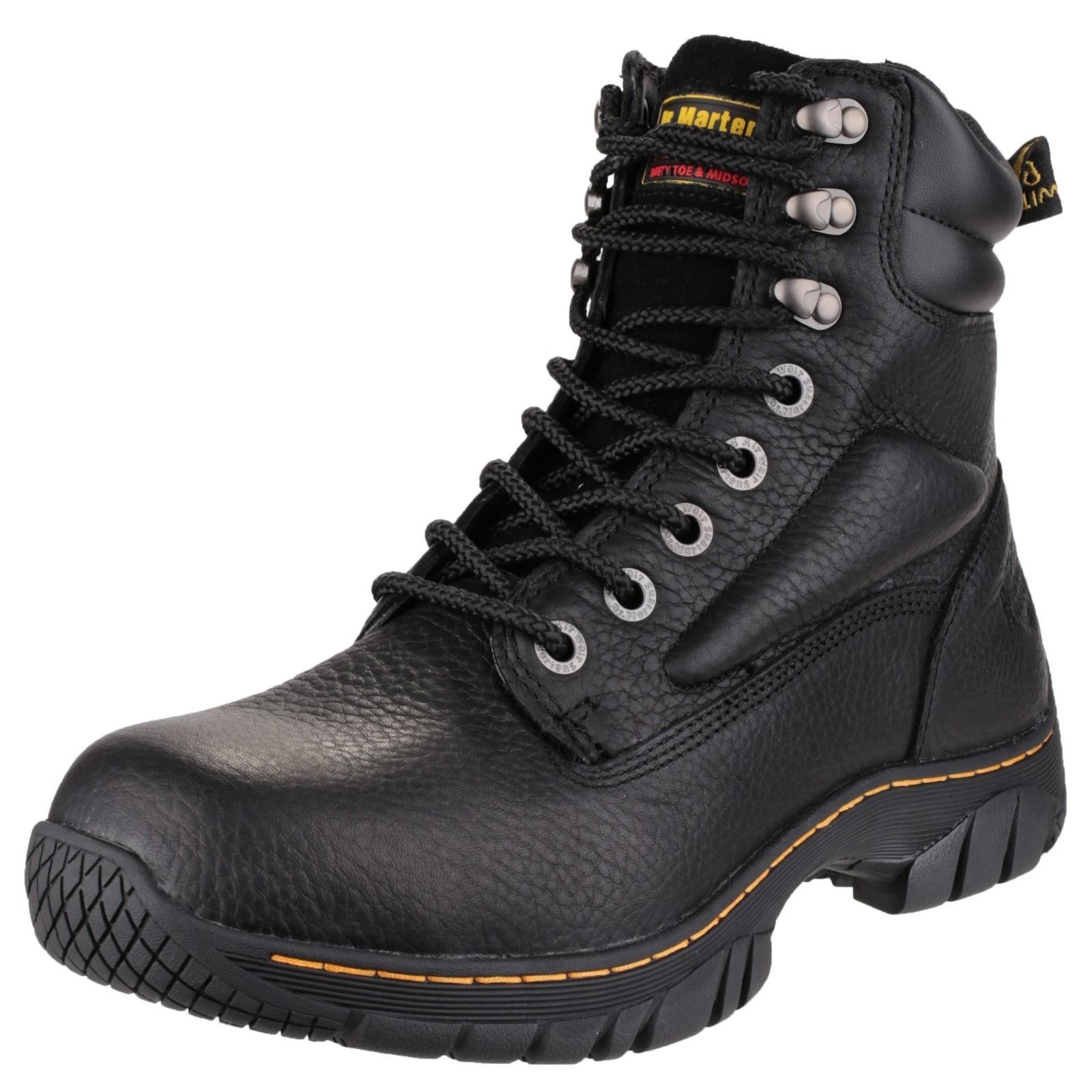 Dr Martens Martens Martens Unisex Purlin Sicherheits Stiefel Schwarz Größe 6 Eu 39  d5216d