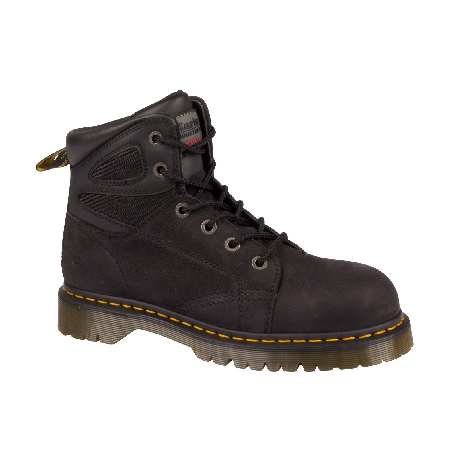 Dr Martens Mens Fairleigh ST 6 eye Lace up Safety Boot