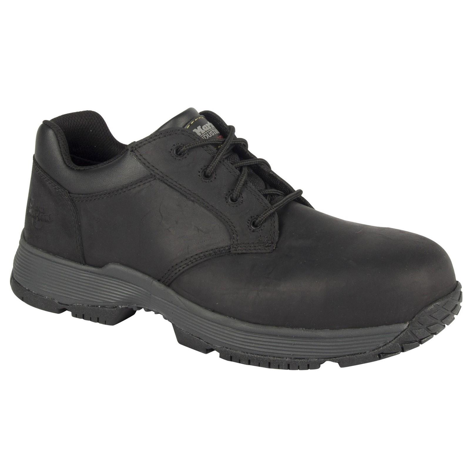 Dr Martens unisex Linnet compuesto con Cordones Zapato De Seguridad Negro Talla