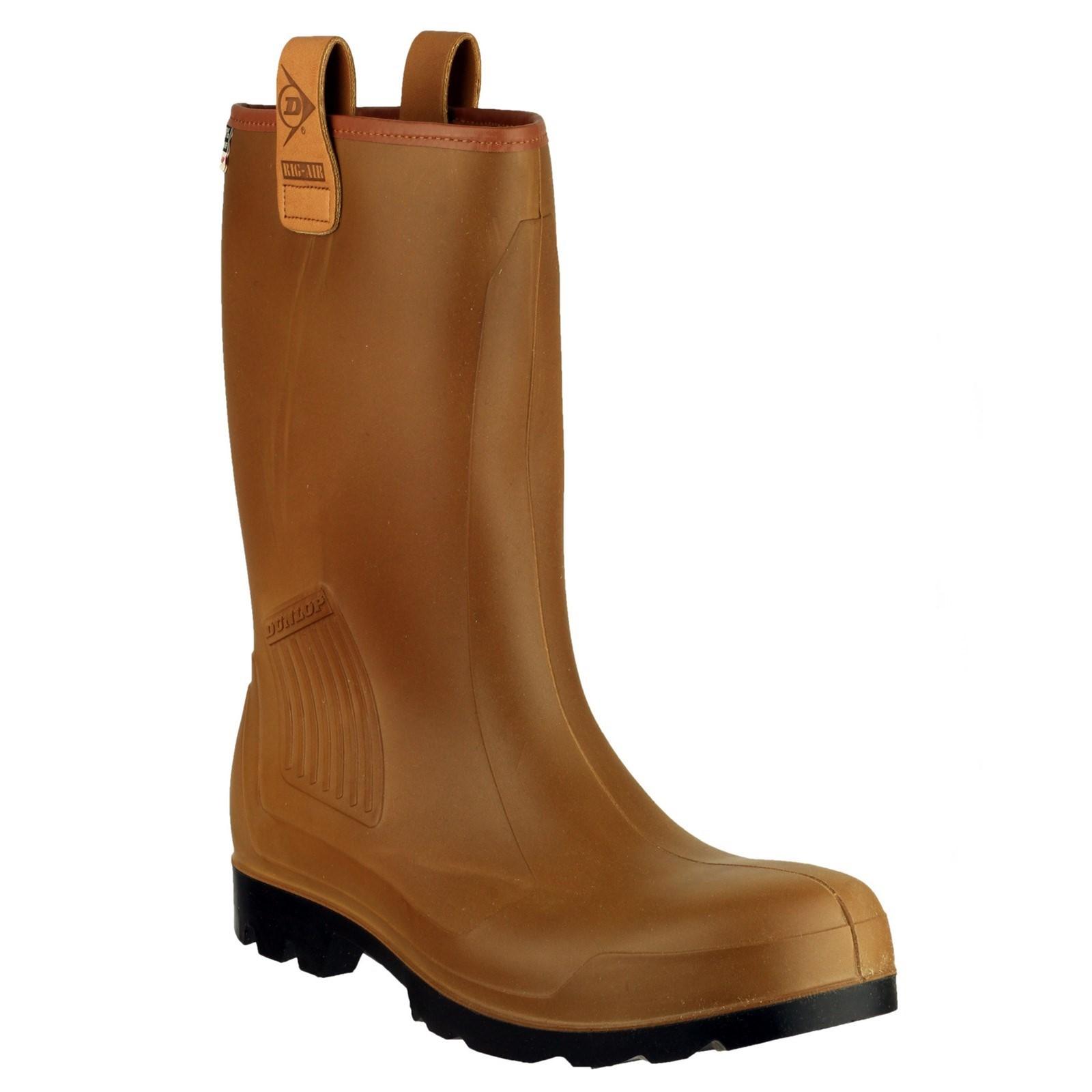 Dunlop Hombre Aparejo Aire Forro botas