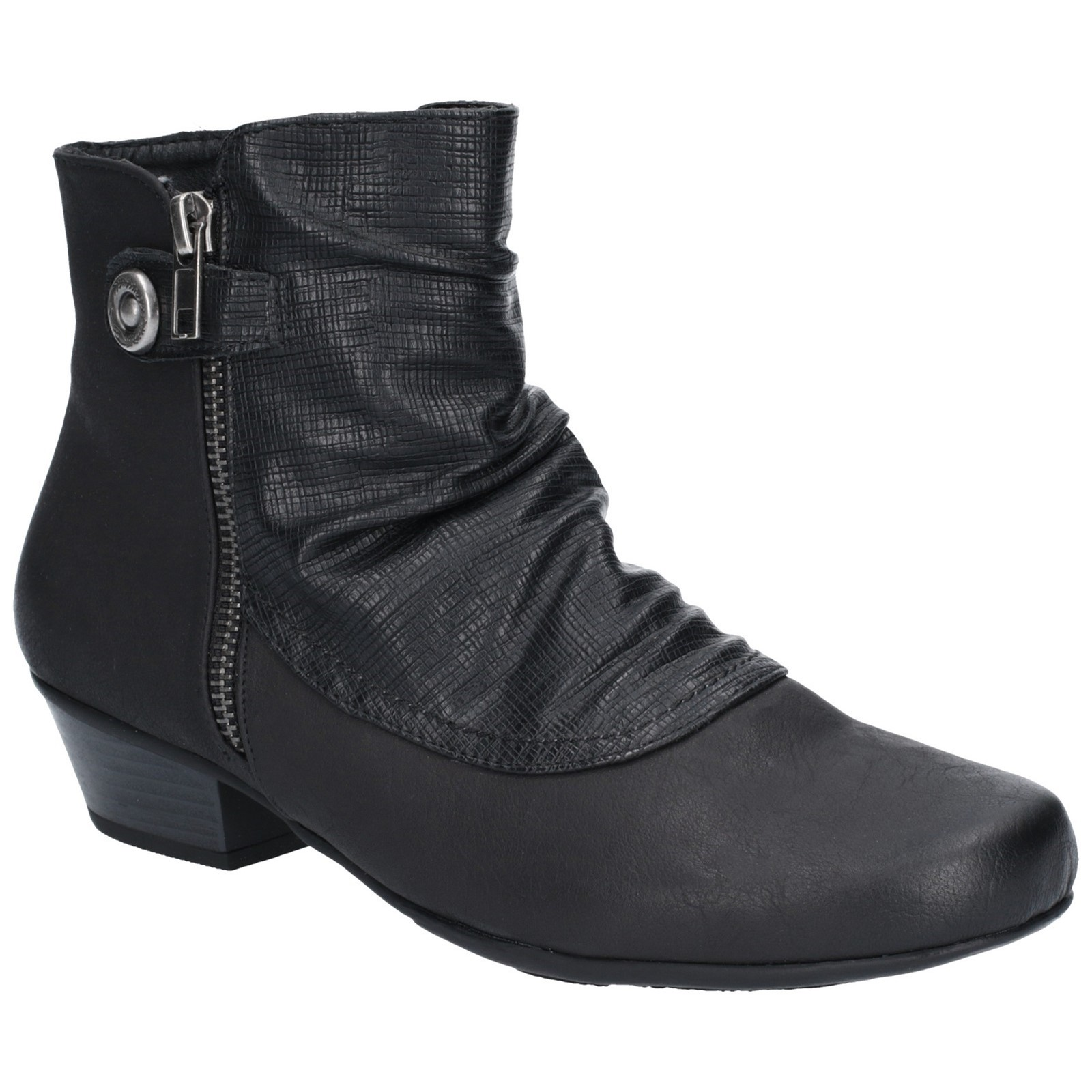 Fleet & Foster Womens Jordie Zip Boot