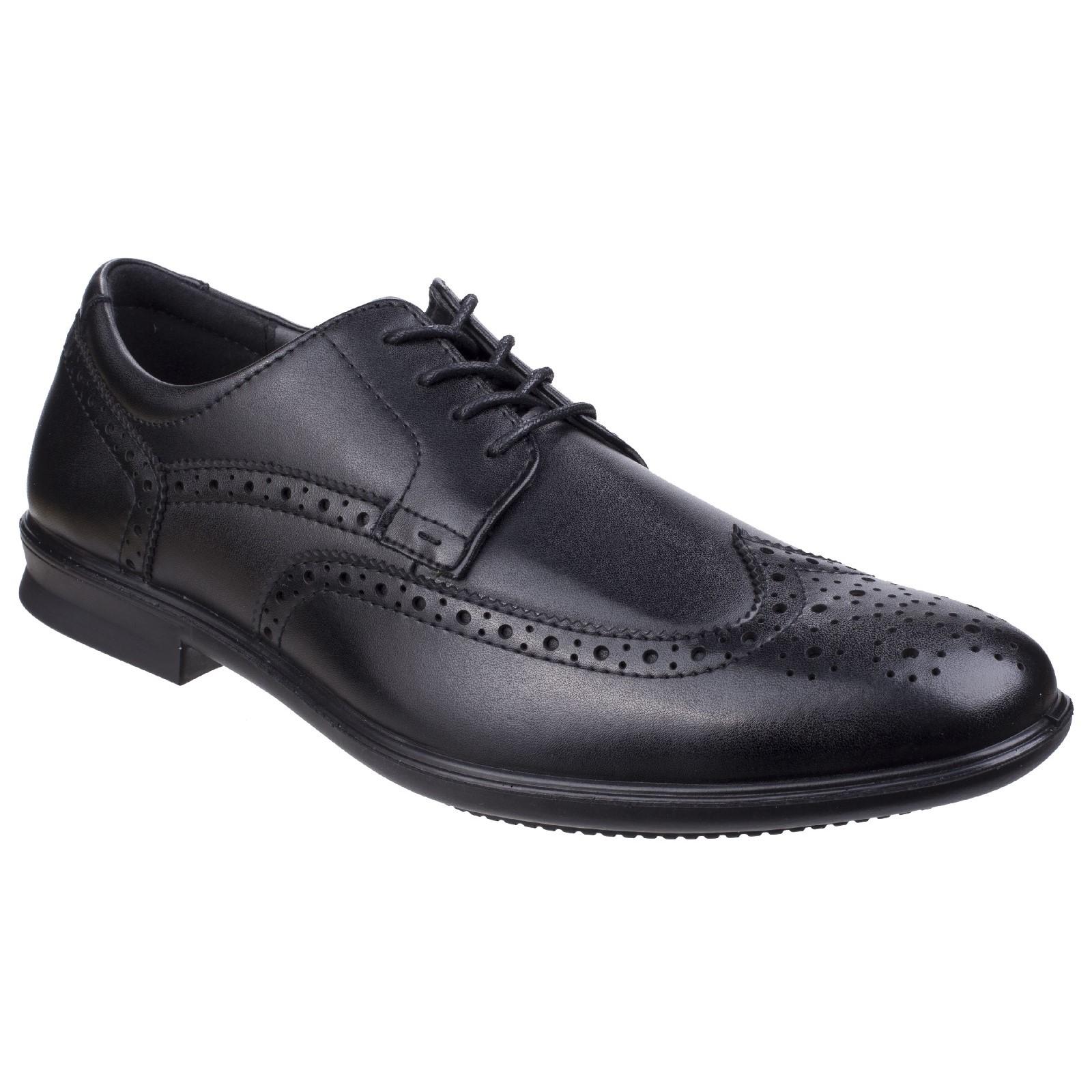 Hush Puppies Para Hombre Cale Oxford Zapato de extremo de ala