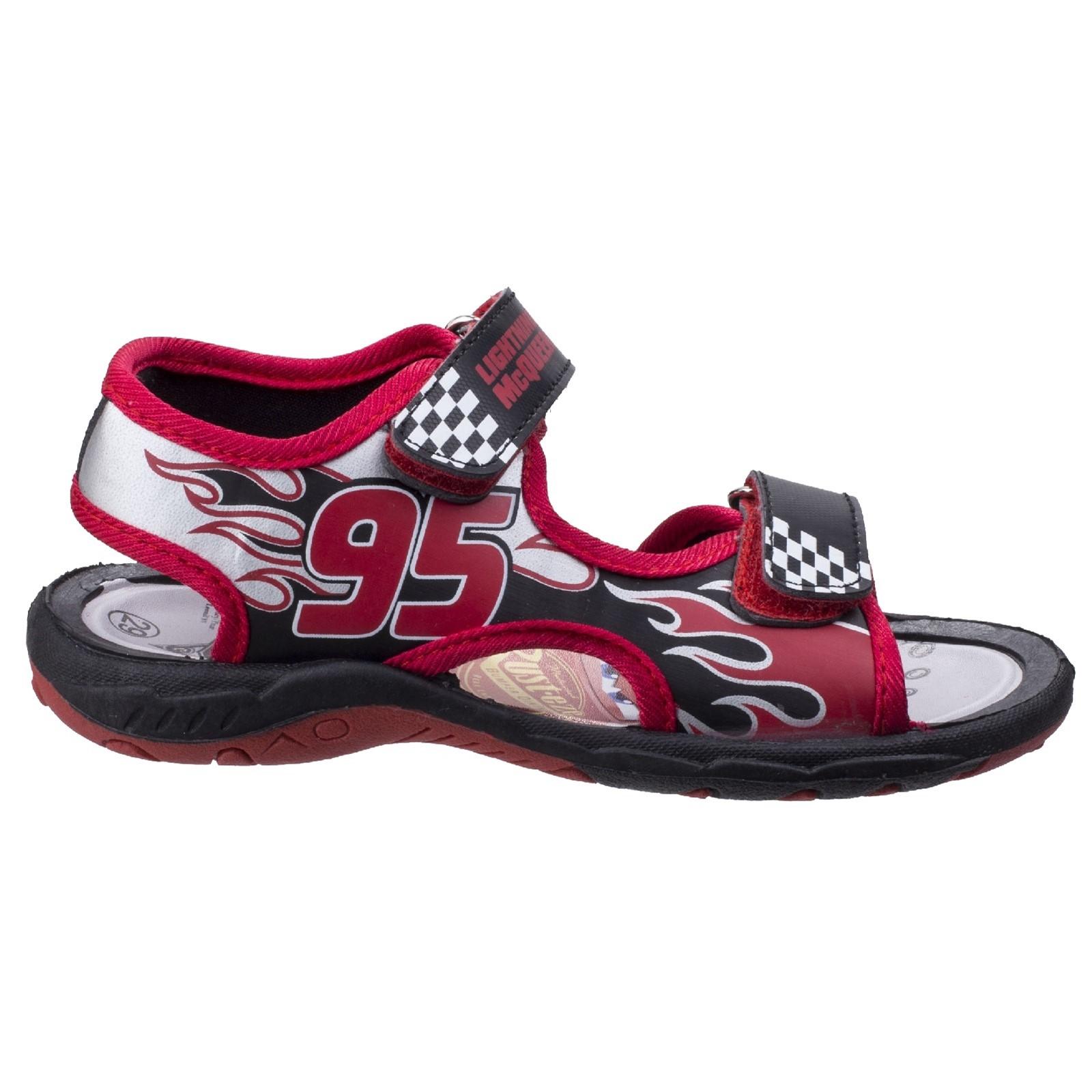 Leomil Kids Lightning McQueen Touch Fastening Sandal