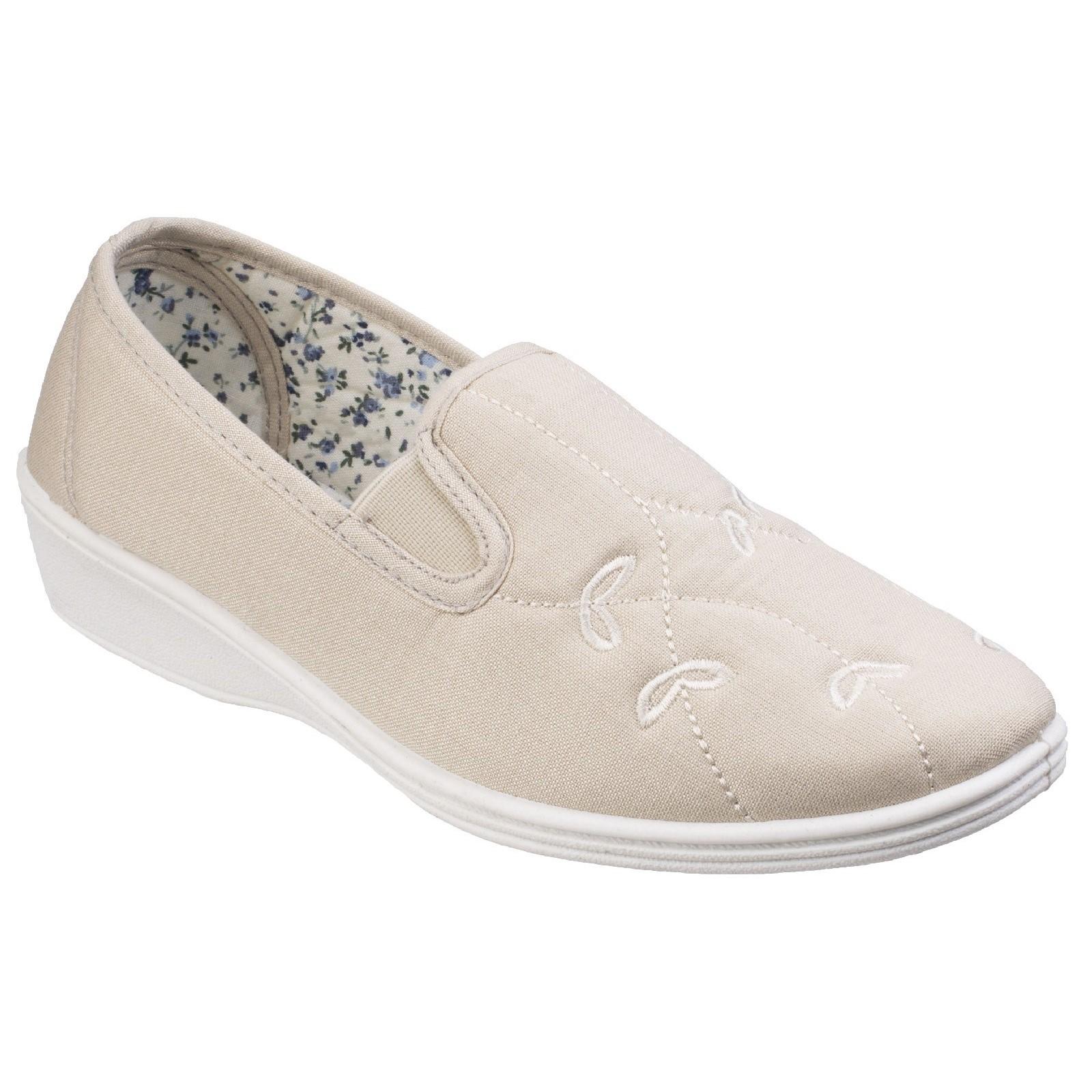Sneakers Estate beige con allacciatura elasticizzata per donna 93JjR0
