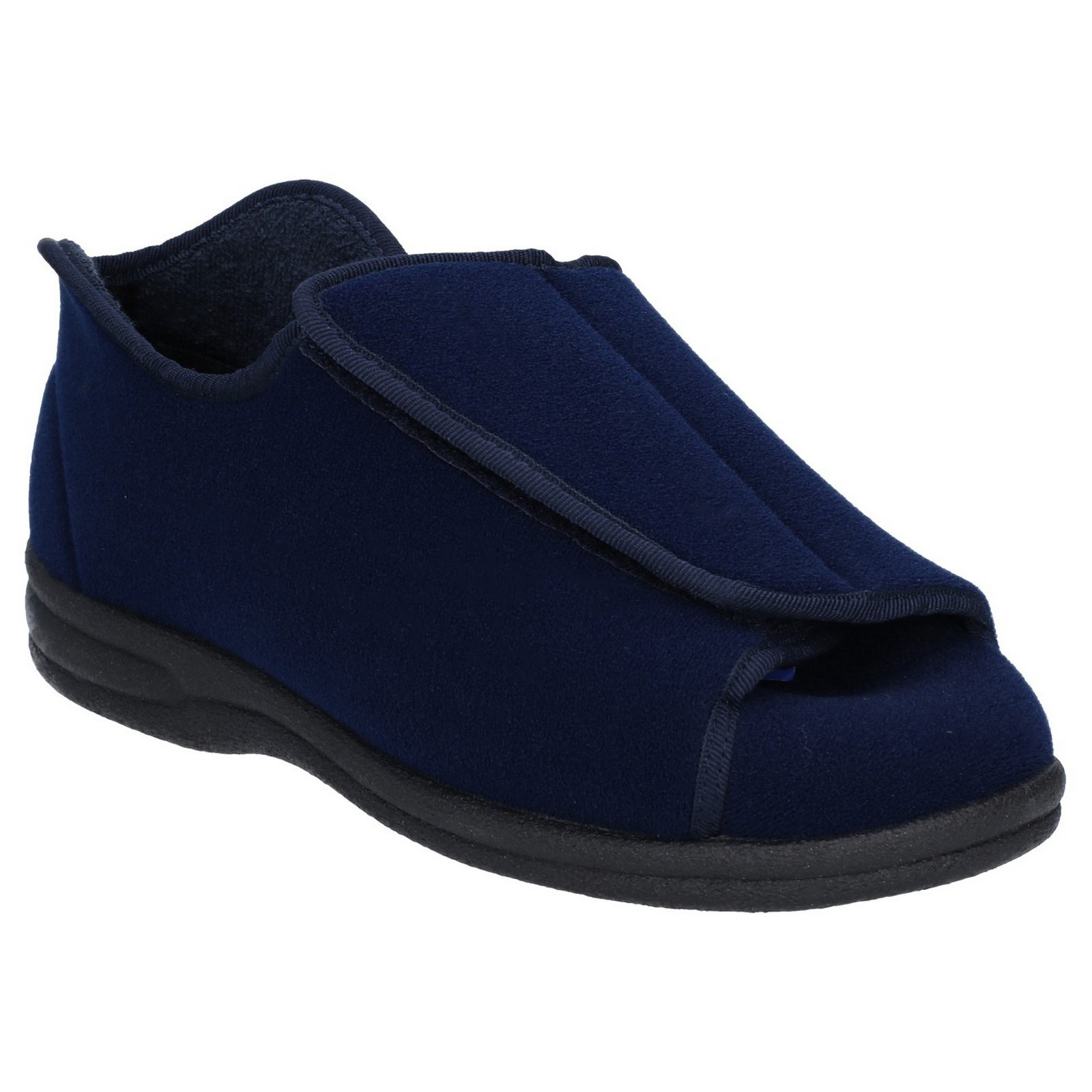 e8278aac93d0 Mens Navy Group 5 Slippers Velcro Size 44. for sale online