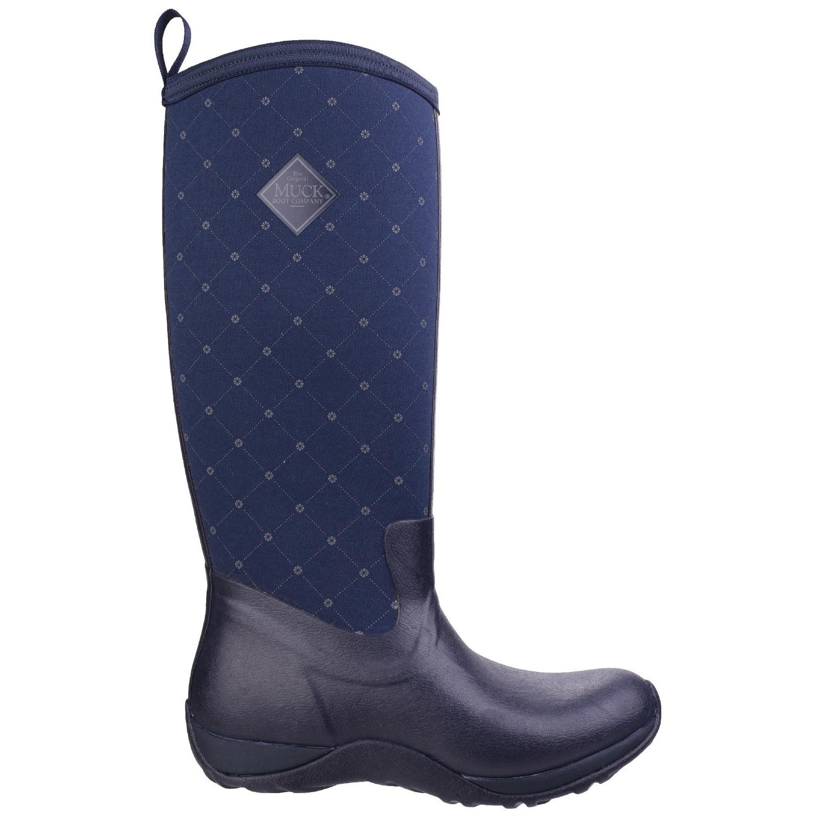 Muck-Botas-Calzado-Exterior-Sendero-Camping-Mujer-Artico-Adventure-Ponerse