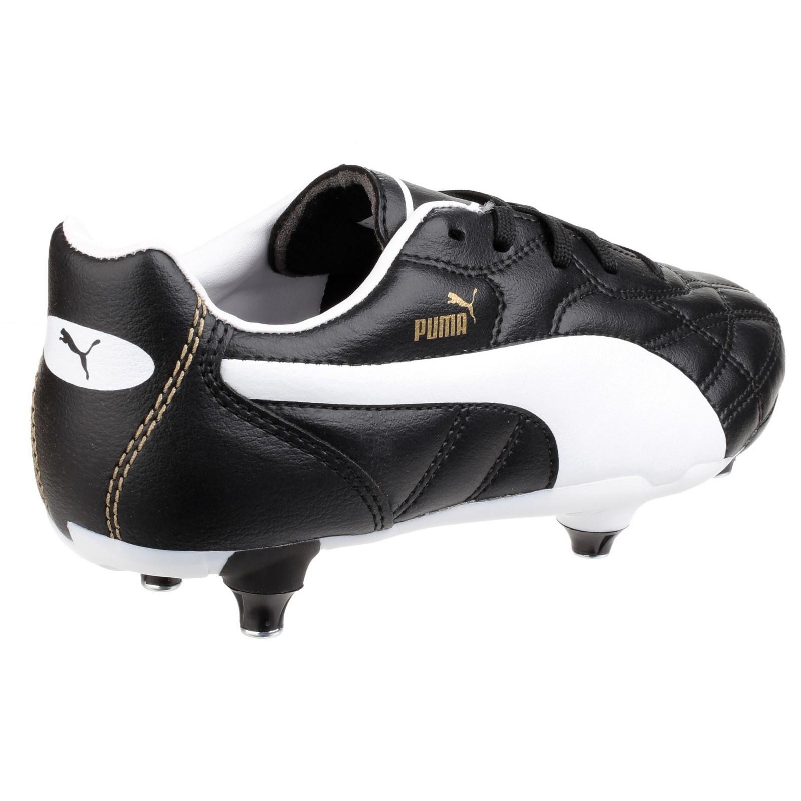 Puma Unisex Classico Einschrauben Fußballschuhe Schwarz Schwarz Schwarz Weiß Gold  | Qualitativ Hochwertiges Produkt  659cd6