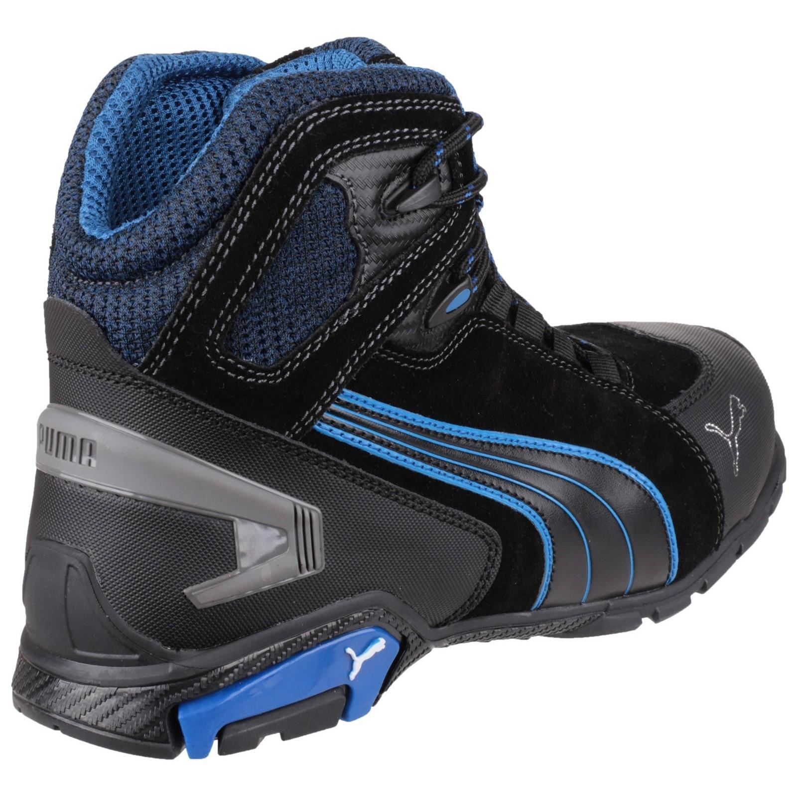 PUMA RIO NOIR Mid S3 Src Chaussures de Sécurité Gr. 39 47 63.225.0
