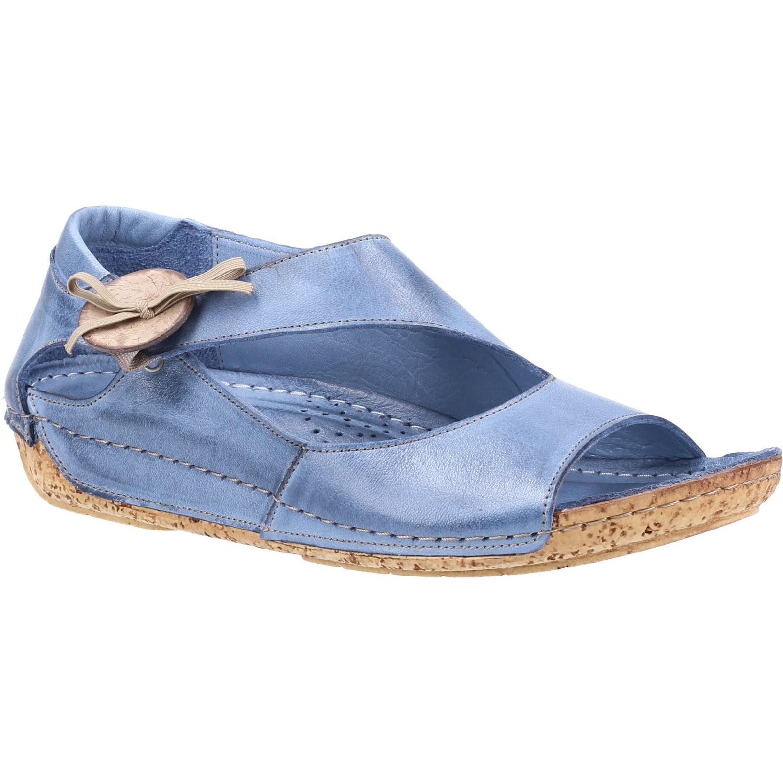 Riva Donna Cartier Sandalo Sandalo Sandalo da Infilare Jeans Taglia Eu 42 25091b