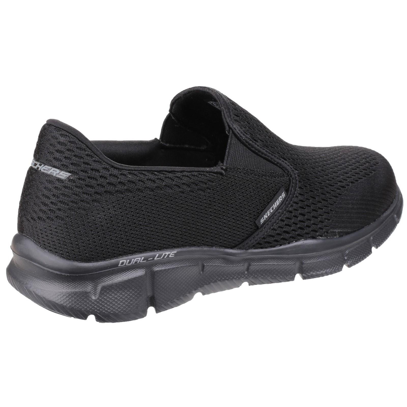 Chaussures à élastique Skechers noires homme Mm4Yok