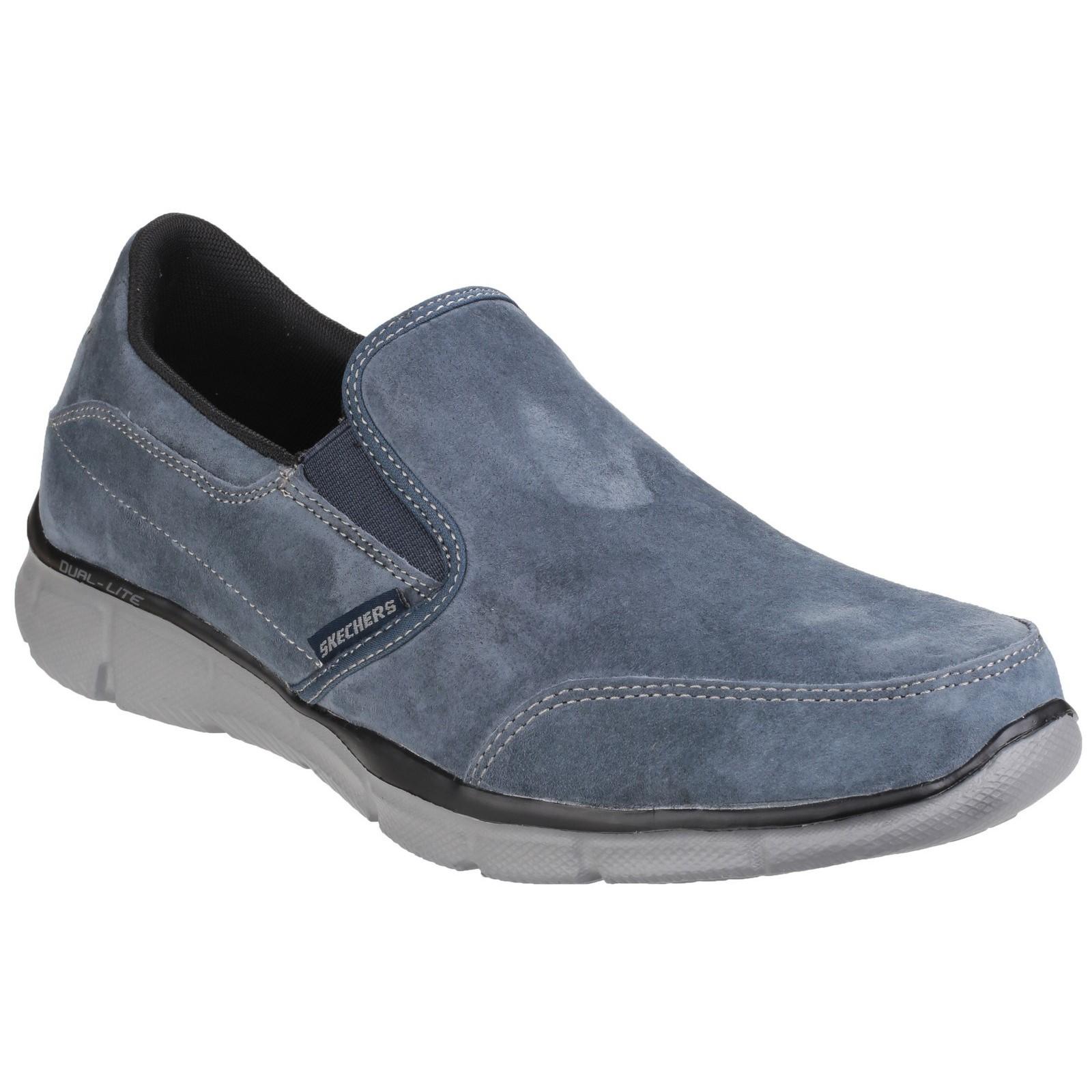Igualador Skechers Para Hombre de juego de mente Memory Foam resbalón en el zapato
