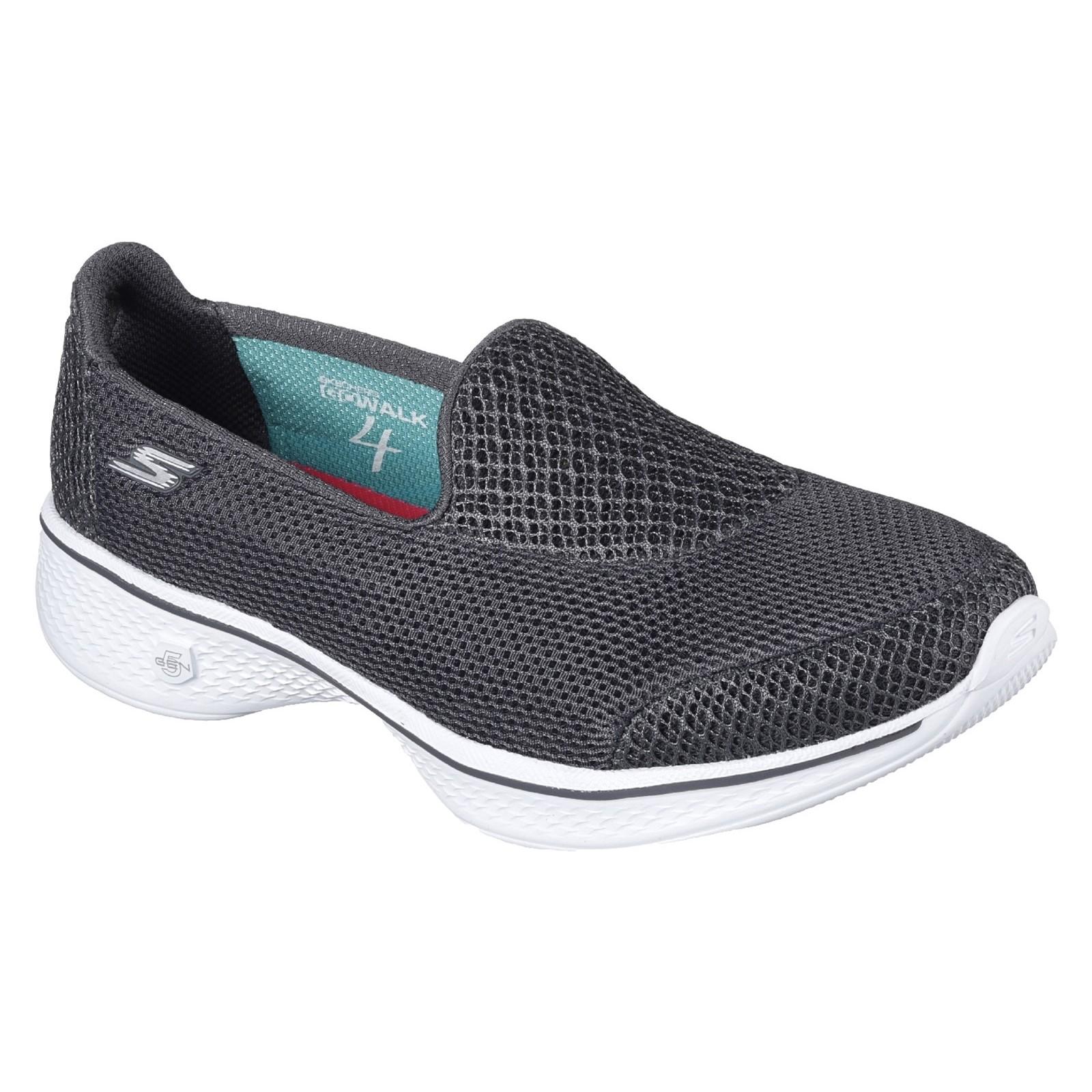 Skechers Femmes Go Walk 4 Propel Chaussure à Enfiler