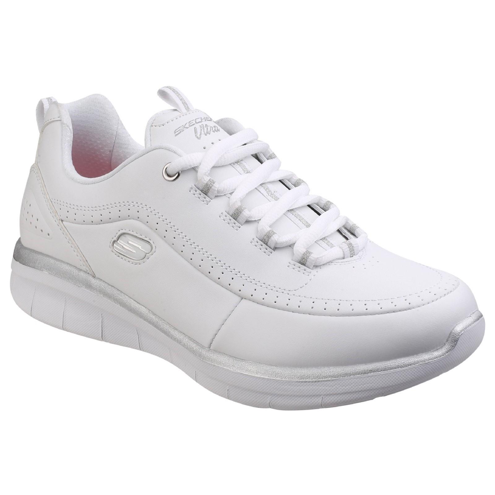 Calzature & Accessori bianchi per donna Skechers Synergy De Moda 7ThUtl