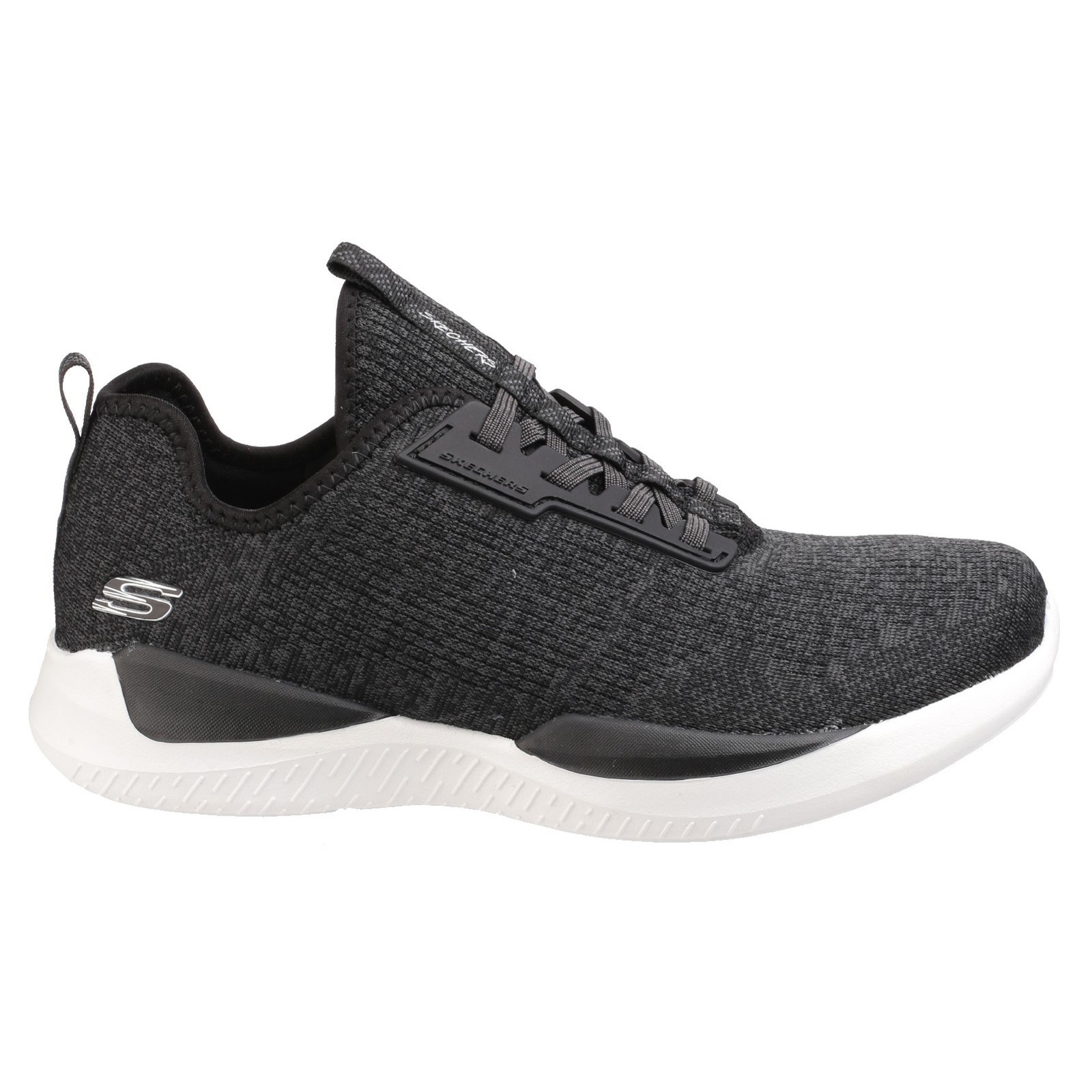 Skechers Matrixx Damen Slipper Sportschuhe Zugband Sport Schuhe ... ab77148d73