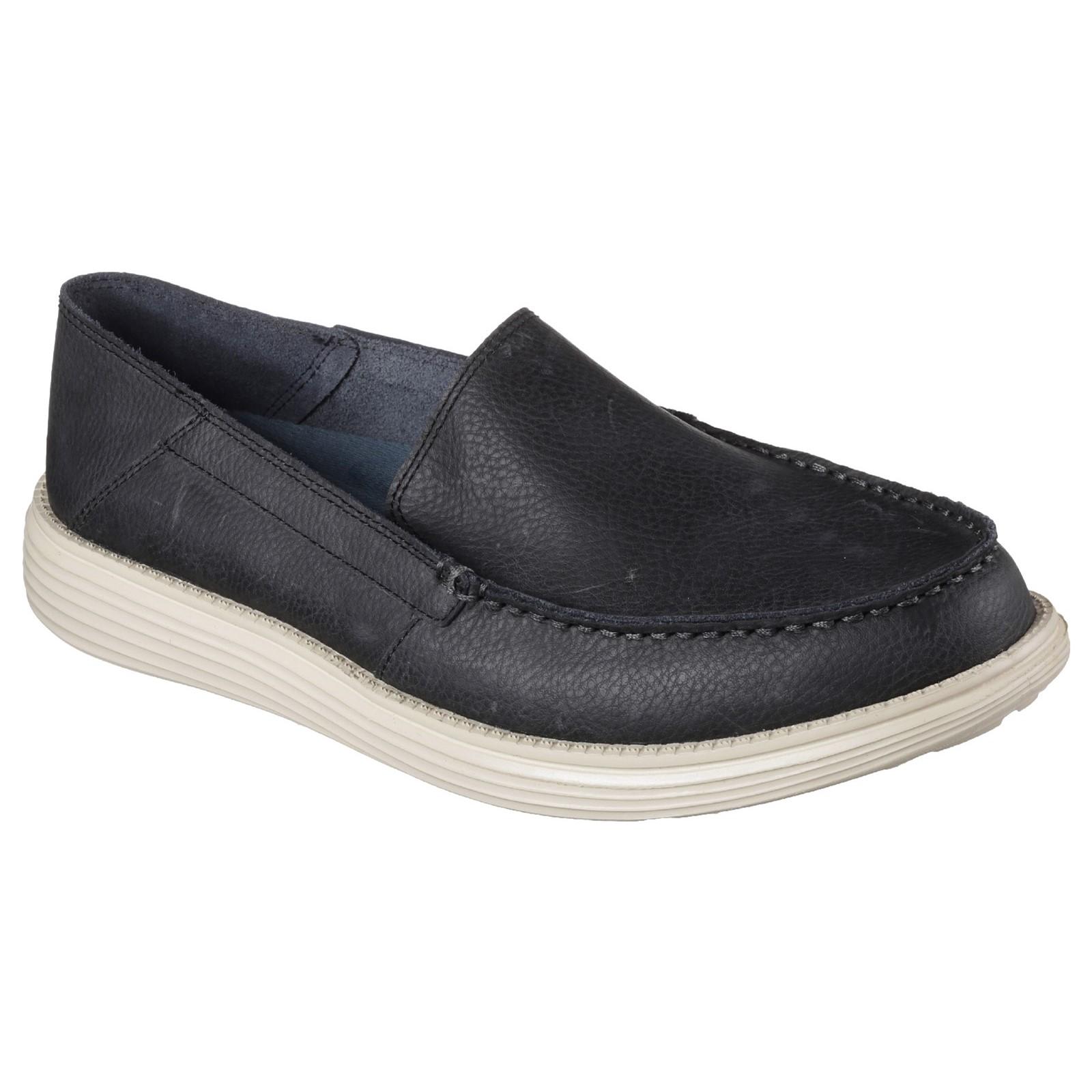 Skechers Mens Status Breson Slip-On shoes