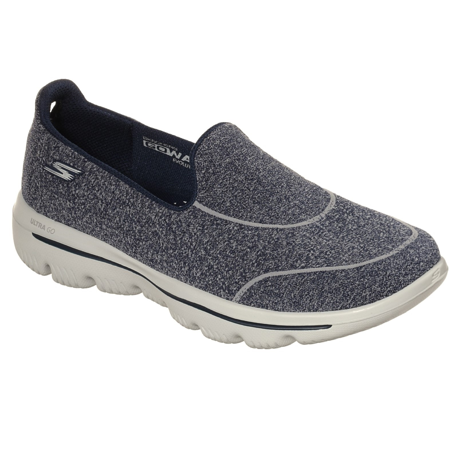 Skechers Womens Go Walk Evolution Ultra-dedicate socknit 360 Slipper