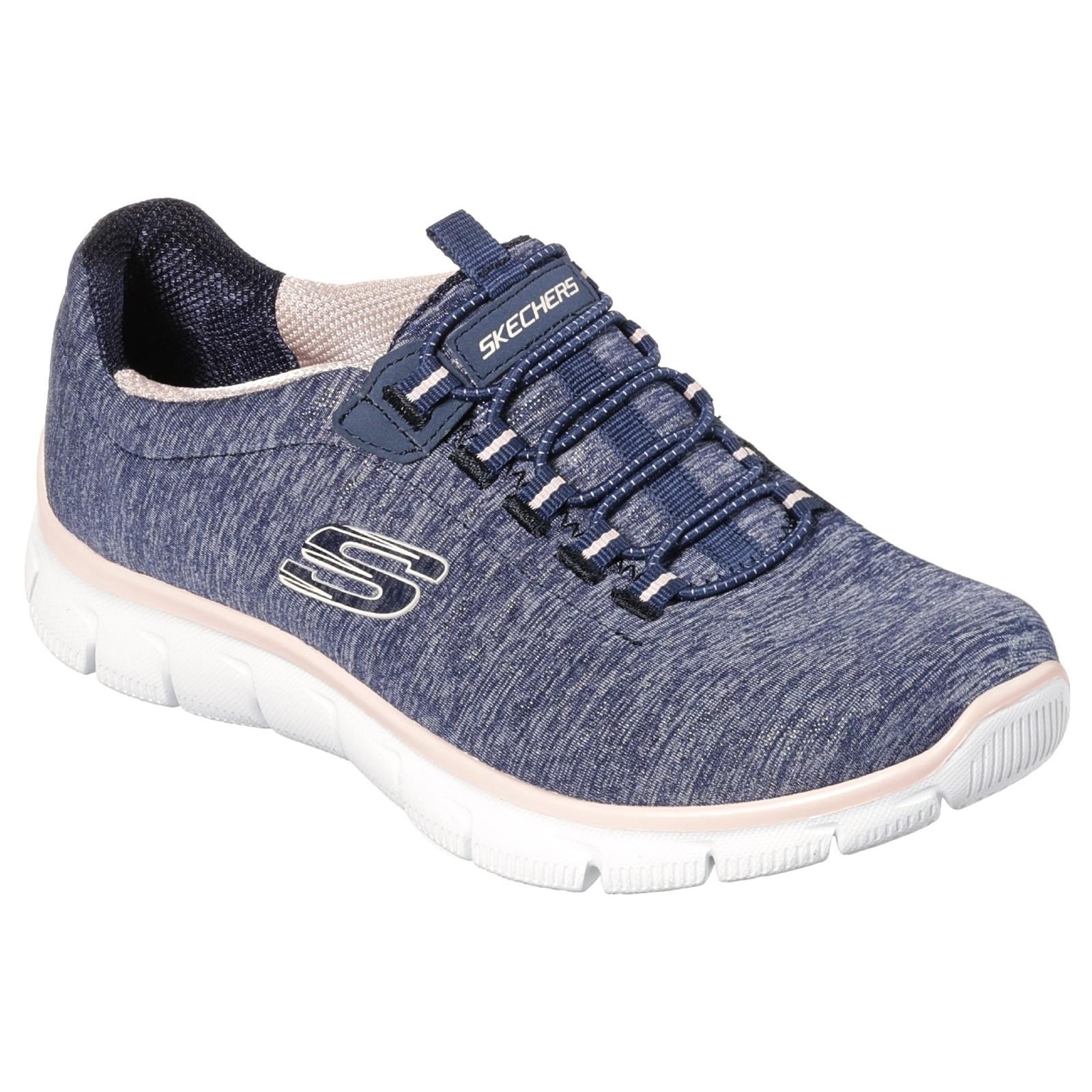 Skechers Womens Empire - See Ya Bungee Slip On Air Cooled Memory Foam shoes