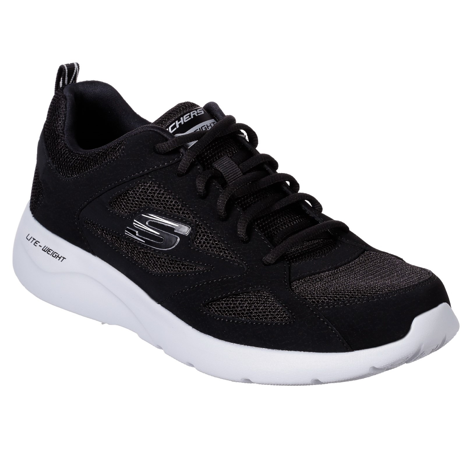 Skechers Mens Dynamight 2.0 Lace Up Memory Foam Trainer