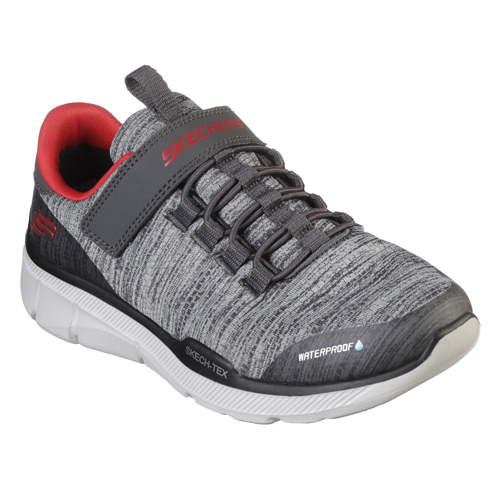 Skechers Kids Equalizer 3.0 Gore & Strap Waterproof Upper shoes