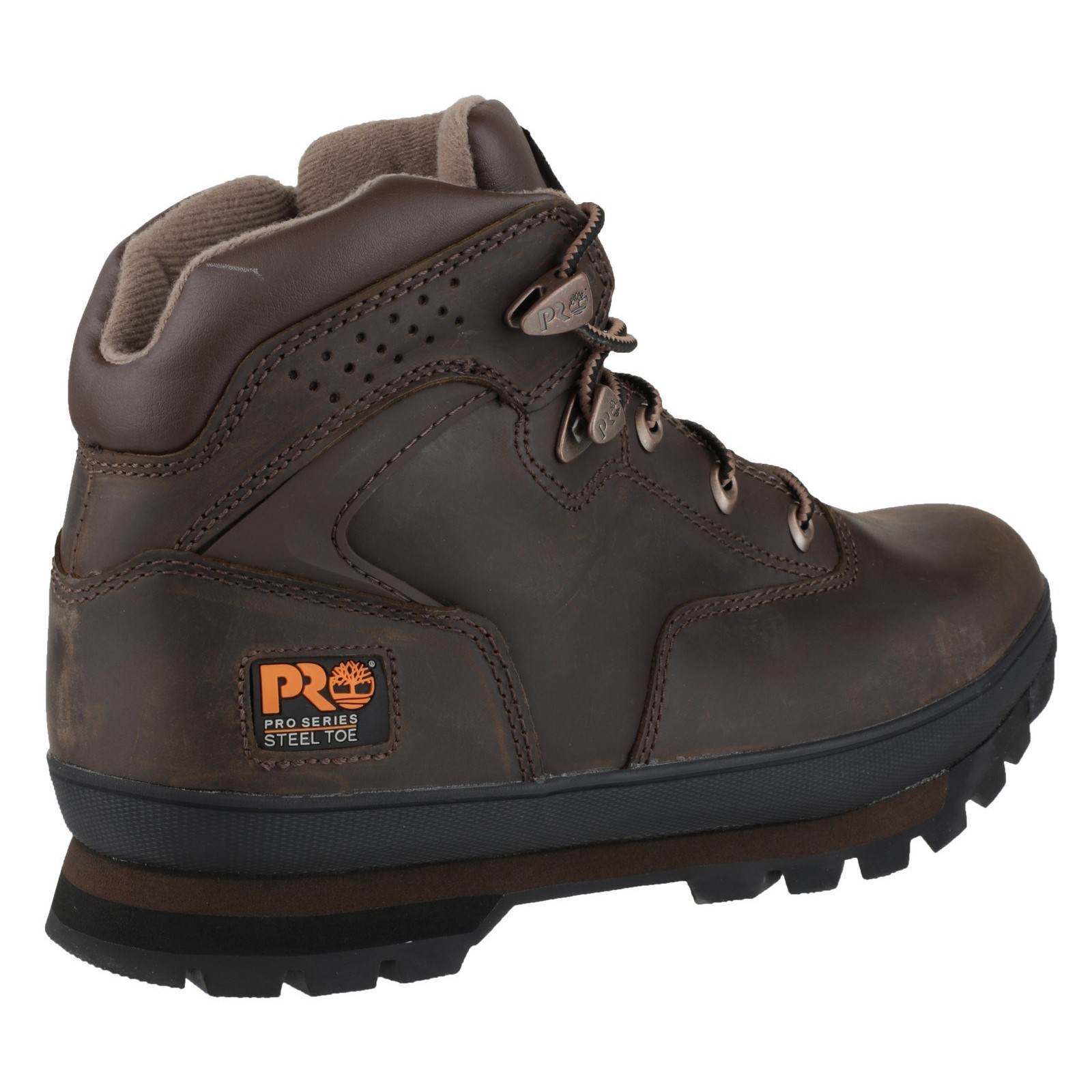 5db7d44ed94b Timberland Pro Euro Hiker Safety Mens Leather BOOTS Steel Toe Cap ...